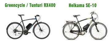 Greencyclen sähköistämä polkupyörä vertailussa Helkaman lippulaivamallin kanssa